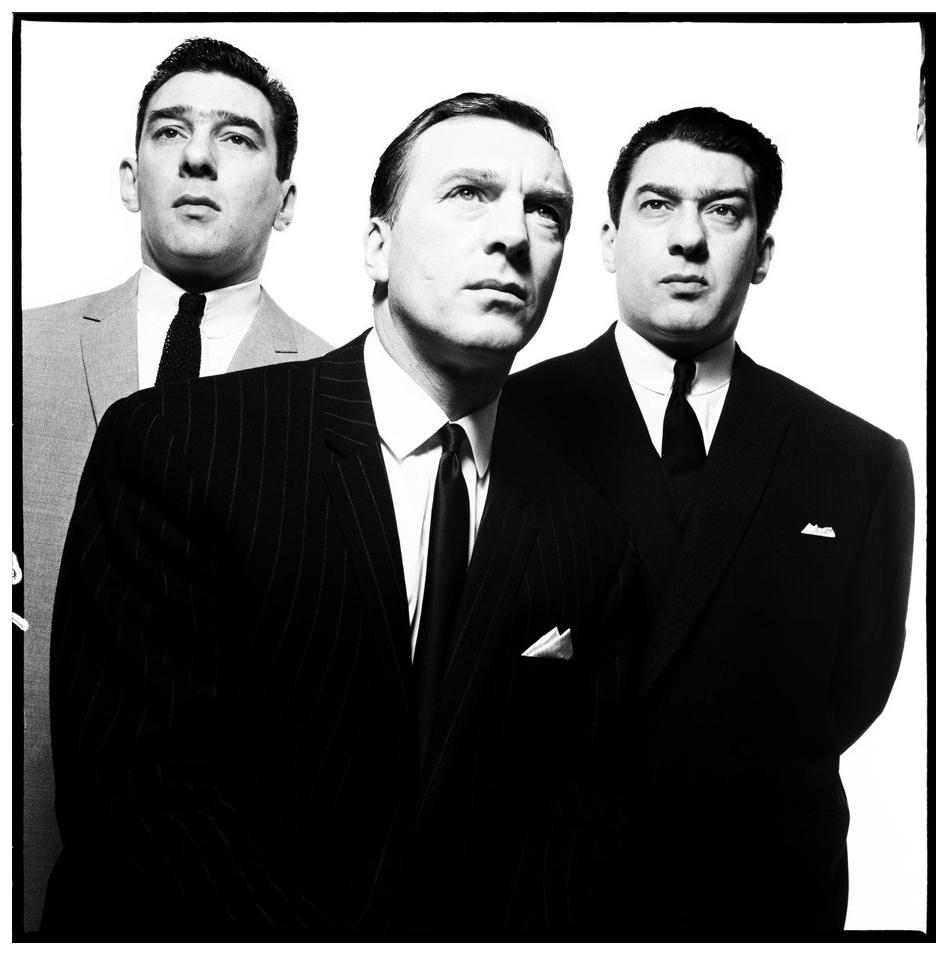 David Bailey, The Kray Brothers, 1965